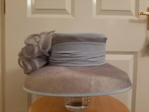 Jacques Vert - Lovely Pale Lilac & Grey Wedding Hat - Mother of the Bride/Groom