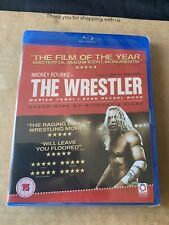 THE WRESTLER (2008) BLU RAY NEW & SEALED Mickey Rourke Marisa Tomei