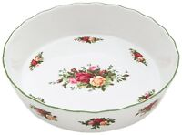 Royal Doulton Royal Albert Old Country Roses Pie Plate NEW