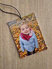 Personalised In Car Air Freshener Custom Printed Photo Christmas Gift