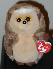"""Ty Beanie Babies Baby ~ IDA the 6"""" Hedgehog ~ 2018 BRAND NEW with Tags ~ IN HAND"""
