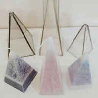 Rectangular Pyramid/Sphere Shape Plastic Candle Mold Mould Candle Making Tools