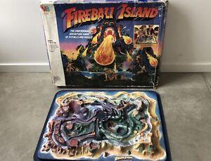 Fireball IslandMilton Bradley Adventure Board Game 1986 Vintage Incomplete
