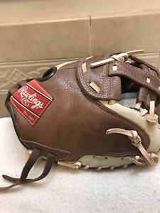 """Rawlings CMFPY Women's Youth 32"""" Fastpitch Softball Catchers Mitt Right 🤚 Throw"""