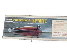 "Dumas hotshot spring Model Boat Kit #1323 31""-36"" New"