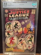 JUSTICE LEAGUE OF AMERICA #16 CBCS VF- 7.5; OW-W; Cavern of Deadly Spheres!
