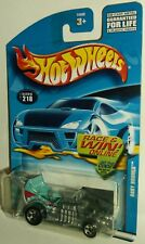 Hot Wheels 2002 Collector #218 Baby Boomer Happy Birthday Light Blue 5SPs 54398
