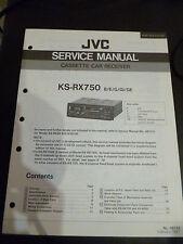ORIGINALI service manual JVC ks-rx750