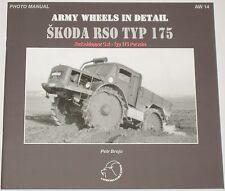 SKODA RSO 175 WW2 German Army Military Tractor Vehicle Second World War History