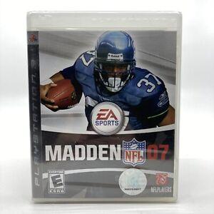 Madden NFL 07 (Sony PlayStation 3, 2006) New, Sealed