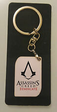 NEW Assassin's Creed Syndicate Logo wood Keychain