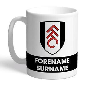 Personalised FULHAM Football Club FC Eat Sleep Drink Mug Gift FFC Fan
