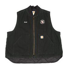 CARHARTT Sleeveless Chore Jacket | Vest Gilet Bodywarmer Quilted Padded Work