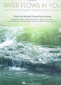 Klavier Noten : River flows in you and other Eloquent Songs - Piano Solo - ms