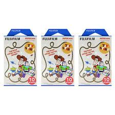 3 Packs 30 Photos Toy Story FujiFilm Fuji Instax Mini Film Polaroid 7S 50S SP-1