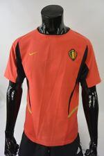 2002-04 Nike KBVB Belgium Football JERSEY Home Shirt SIZE S (adults)