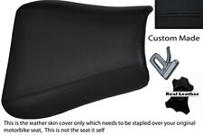 BLACK STITCH CUSTOM FITS TRIUMPH 01-05 SPEED TRIPLE 955 i FRONT SEAT COVER