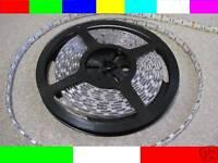 IMPIANTO STRIP STRISCIA LED RGB 600 LED 10m 10metri CAMBIACOLORE COMPLETO