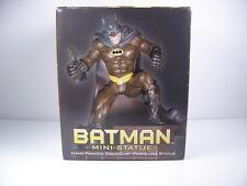 Batman Mini Statue Hand Painted Cold Cast Porcelain DC Direct #1379/4000 In Box