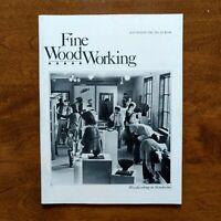 Fine Woodworking Magazine Woodworking in Mendocino July/August No. 29 Vintage