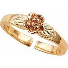 10k Rosebud Black Hills Gold Toe Ring