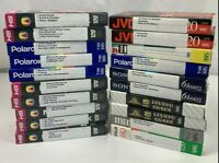 Lot of 20 Mixed Pre Recorded VHS VCR Tapes Sold As Used Blanks