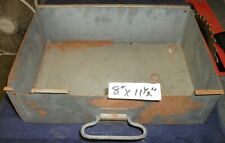 "BALLY style Pinball Machine metal Coin Box No lid 8"" x 11-1/2"" KISS, 6MIL$MAN"