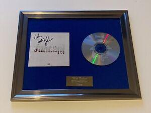PERSONALLY SIGNED/AUTOGRAPHED LIL WAYNE - FUNERAL FRAMED CD PRESENTATION