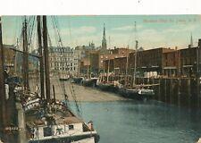 SAINT JOHN NB – Market Slip St. John - 1909