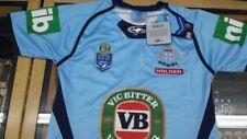 NSW Blues State of Origin 2015 On Field Premium Jersey
