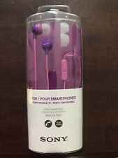 Sony Smartphone Earbuds Pink/purple