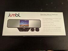 Dual Lens Car DVR Dash Cam Video Camera Recorder Rearview Mirror US Seller