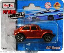 VW Käfer Modell - Maisto - Baya - Orange Metallic - NEU & OVP