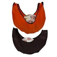2 Pieces Bowling Ball Carrier Bag Durable See Saw Towel Microfiber Holder