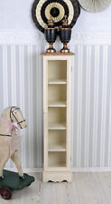 Display Case Cabinet Shabby Chic Wardrobe Cottage Column Cabinet Cabinet
