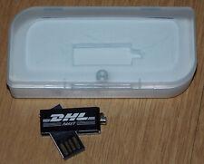 DHL Werbung USB-Stick 8GB USB 2.0 Mini Micro Stick Drehkappe 24x Write 138x Read