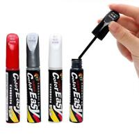 Car Scratch Fix Repair Paint 4 Colours Silver Red White Black Auto Fixing Pen
