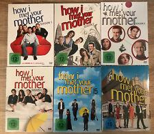How I Met Your Mother - Staffel 1-6 (18 DVDs, Staffel 2-6 OVP)