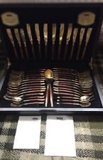 Fabulous Viners 44pc Balmoral  Bronze Cutlery Canteen
