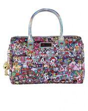 Tokidoki Kawaii Metropolis Chibi Cartoon Characters Bowler Bag Handbag Purse