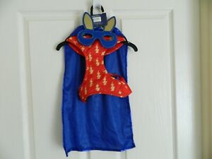 New Pet Dog Costume Flynn Costume Size L & Size S Blue/Red  Pet Costume