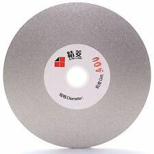"4"" inch 100mm Grit 400 Diamond Coated Flat Lap Disk Grinding Polishing Wheel"