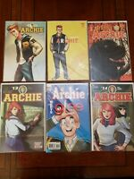 All New Archie #1 Variant Edition Mark Waid Fiona Staples Archie Comics Lot of 6