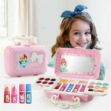 Toy For Kids Girls Cosmetic Kit Eyeshadow Lip Gloss Box Princess Makeup Set New.