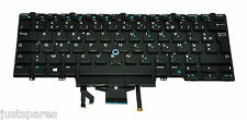 Dell Latitude E5480 French Layout AZERTY Backlit Dual Pointing Keyboard W93F7