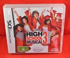 HIGH SCHOOL MUSICAL 3 SENIOR YEAR - Nintendo DS GAME / Complete Free Postage