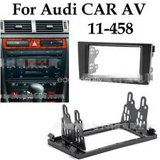 Car Radio Stereo Surround Trim Kit Black Fascia CARAV 11-458 For AUDI A6 Allroad