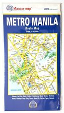 Accu-Map NEW Metro Manila Route Scale 1:30,000 Accurate GPS Referenced ~ryokan