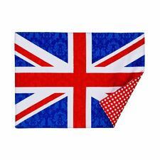 I Love UK Placemats, Set of 4, 100% Cotton