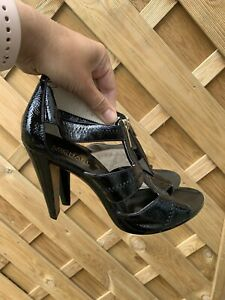 Michael Kors Sandals black patent leather uk 4 us 7
